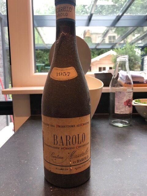 MASCARELLO BAROLO 1957